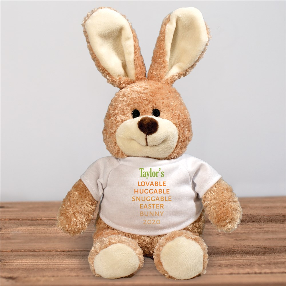 Carrot Love Personalized Easter Bunny | Personalized Easter Bunny