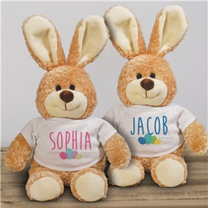 Personalized Stuffed Easter Bunny | Personalized Easter Bunny