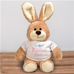 Custom Stuffed Easter Bunny