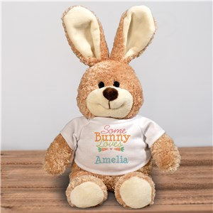 Customized Easter Bunny Stuffed Animal