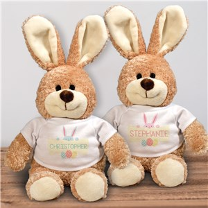 Custom Easter Bunny Stuffed Animal