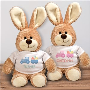 Personalized Easter Bunny Stuffed Animal