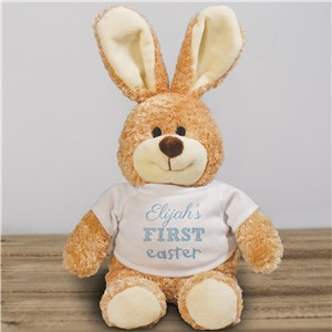 Personalized First Easter Bunny | Stuffed Easter Bunny