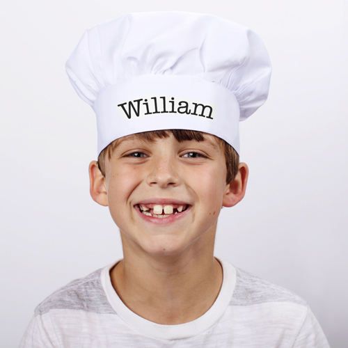 Personalized Chef in Training Youth Chef Hat 868178