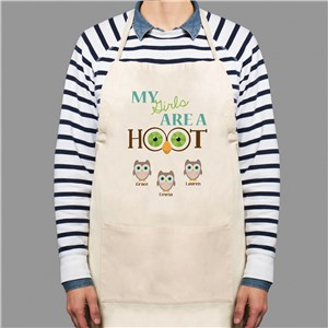 Personalized Are A Hoot Apron | Mother's Day Gifts