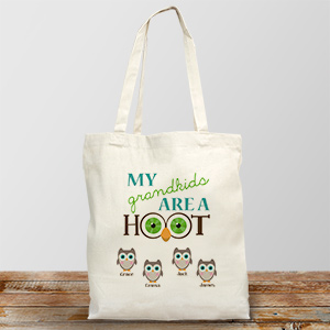 Personalized Are a Hoot Tote Bag 870052