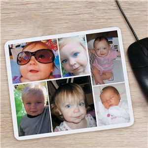 Collage Photo Mouse Pad | Unique Gifts for Mom