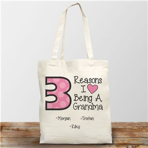 I love being a Grandma Canvas Tote Bag