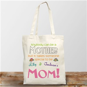 Anybody Can Be Personalized Canvas Tote Bag
