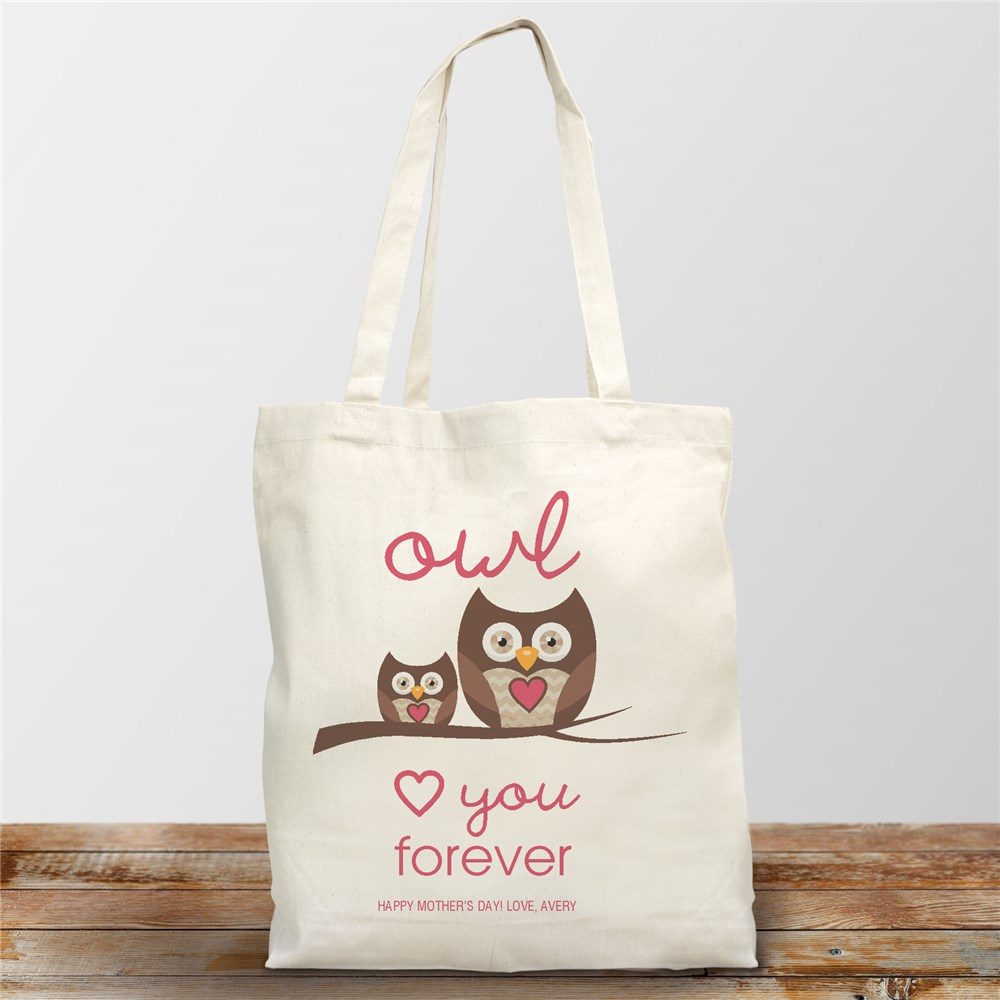 Personalized Tote Bags | Owl Tote Bags