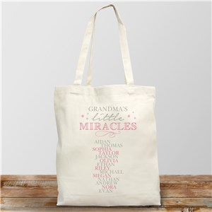 Tote Bag for Grandma | Personalized Canvas Tote Bags