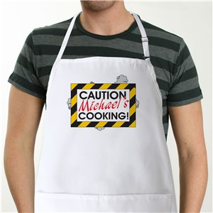 Caution Apron | Personalized Aprons