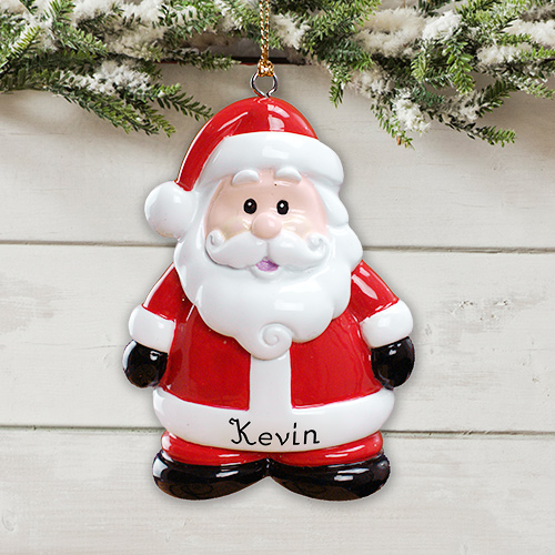 Personalized Santa Christmas Ornament | Personalized Ornaments