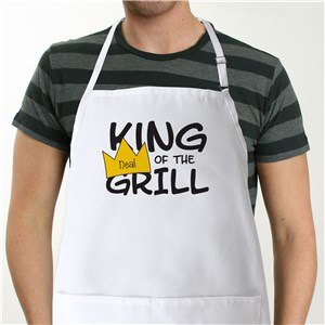 King of the Grill Apron | Personalized Aprons
