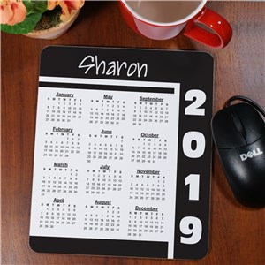 Calendar Personalized Mouse Pad | New Year Gifts