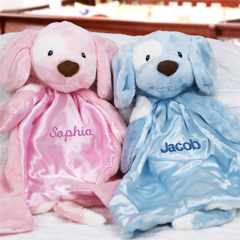 Personalized Baby Huggybuddy Blankie | Unique Baby Shower Gifts