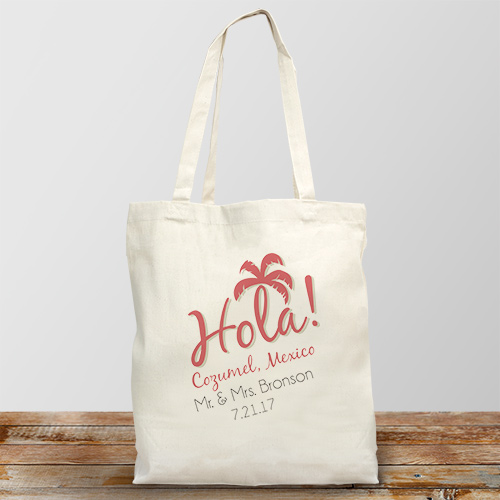 Tropical Wedding Destination Tote Bag 894662