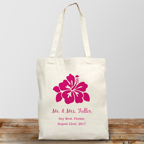 Personalized Destination Wedding Tote Bag 894742