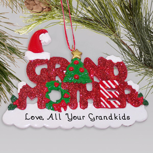 Grandmother Personalized Ornament | Personalized Christmas Ornaments
