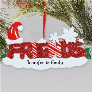 Friends Personalized Christmas Ornament | Personalized Christmas Ornaments