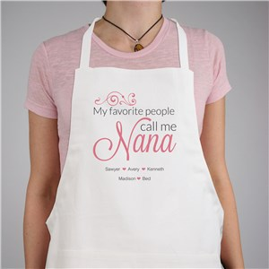 My Favorite People Call Me Apron | Mother's Day Gifts