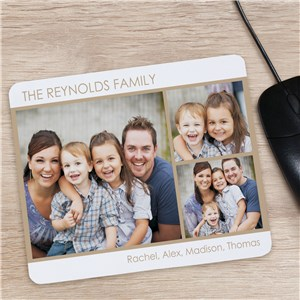 3 Photo Mousepad | Father's Day Gift