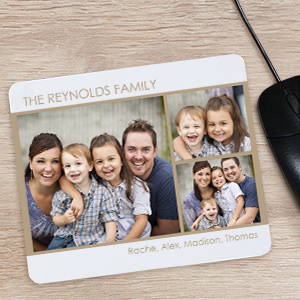 3 Photo Mousepad | Mother's Day Gift