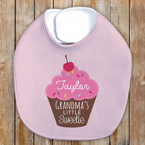 Personalized Little Sweetie Bib | Personalized Baby Gifts