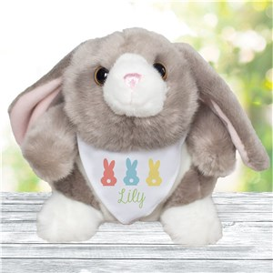 Personalized Easter Bunnies | Stuffed Easter Bunny