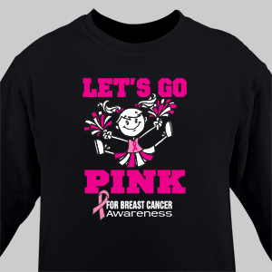 Breast Cancer Awareness Long Sleeve Personalized Shirt | Personalized T-shirts