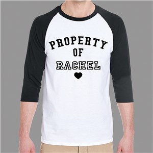 Personalized Shirts | Valentine's Raglan Shirts