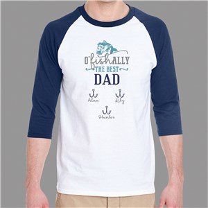 Personalized Shirts for Grandpa | Baseball Shirts For Guys