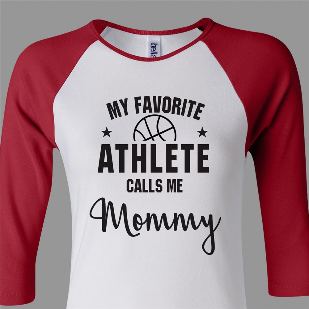 Sports Mom Shirt | Women's Raglan Shirt