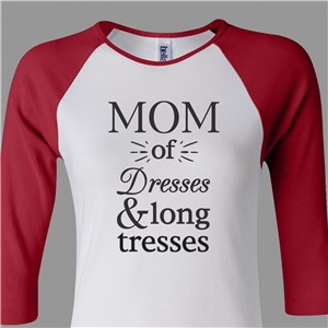 Personalized Mom Shirt | Personalized Raglan Shirts