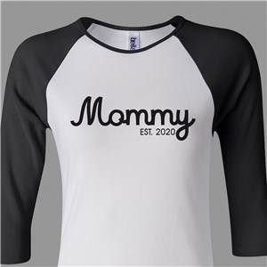 Personalized Raglan Shirt | Mom Shirts