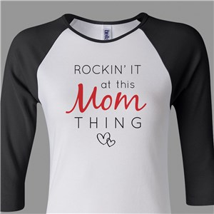 Mom Raglan Shirt | Personalized Raglan Shirt