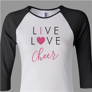 Live Love Sport Shirt | Personalized Mom Shirts