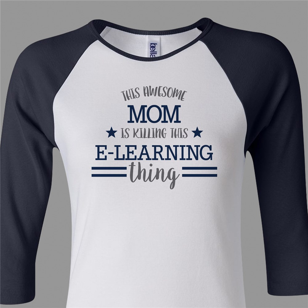 Personalized This Awesome Momma T-Shirt