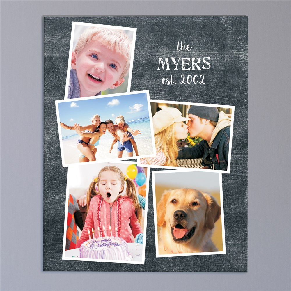 Personalized Family Photo Collage | Personalized Photo GIfts