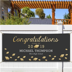 Personalized Graduation Photo Banner | Graduation Gifts