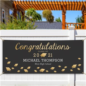 Personalized Graduation Photo Banner