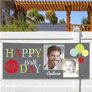 Birthday Photo Collage Banner 911050114