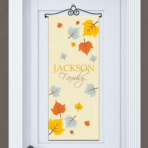 Personalized Fall Door Banner 911061015