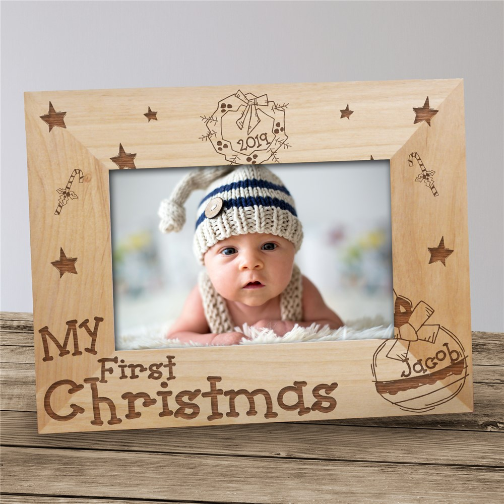 My First Christmas Picture Frame | Baby's First Christmas Gifts