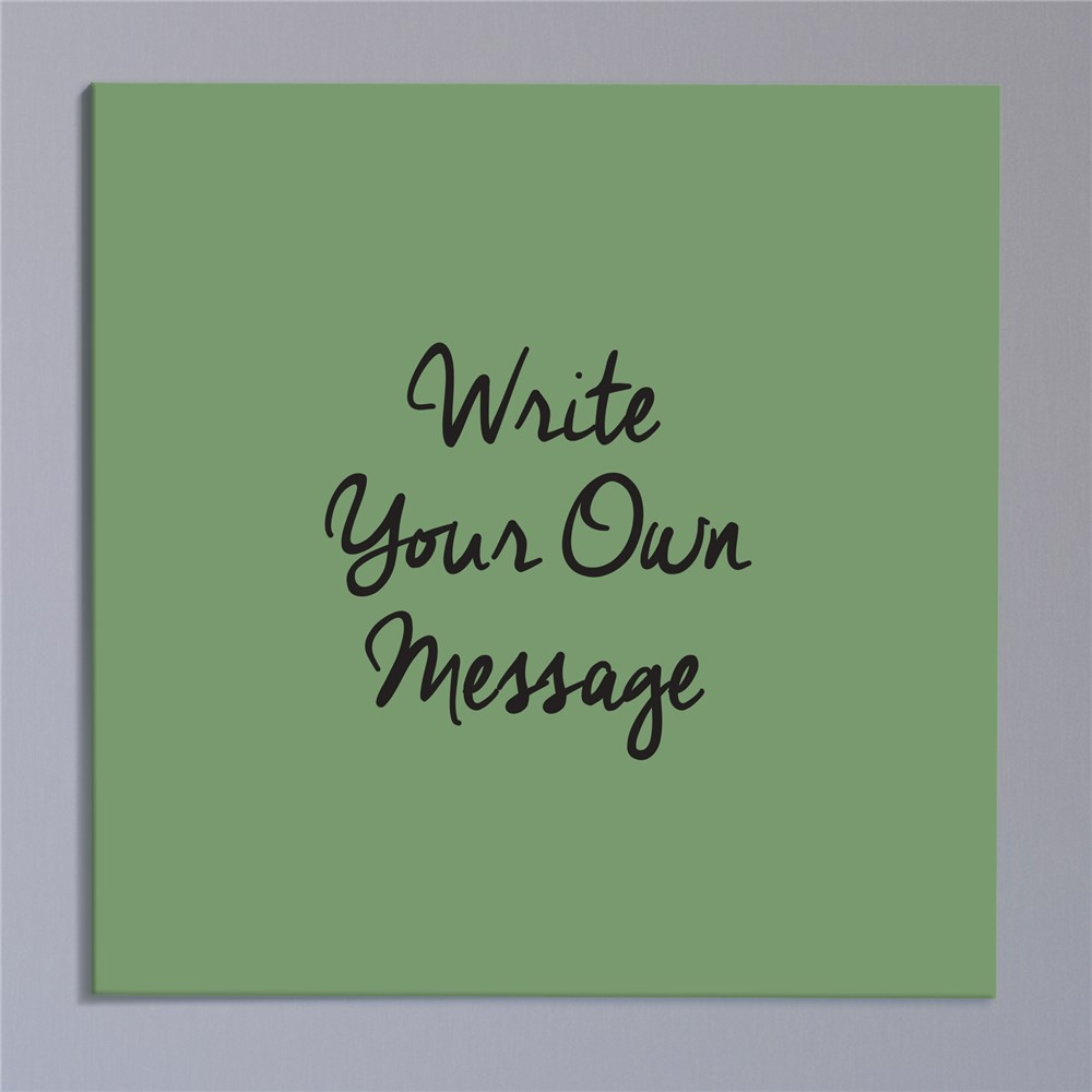 Personalized Write Your Own Wall Canvas | Customized Wall Decor Quotes