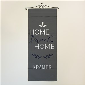 Home Sweet Home Personalized Wall Hanging | Personalized Wall Decor