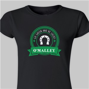 Personalized St. Patrick's Day Shirts | Ladies St. Pat's Shirts