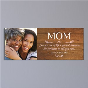 Personalized Mom Wall Canvas | Personalized Gifts For Mom