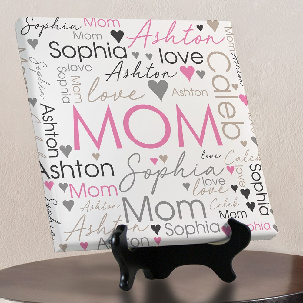 Mother's Day Gifts | Personalized Art For Mom