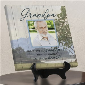 Photo Memorial Canvas | Personalized In Memory Photo